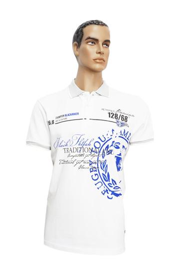 Koszulka Polo B166 wzór 6 - PACZKA