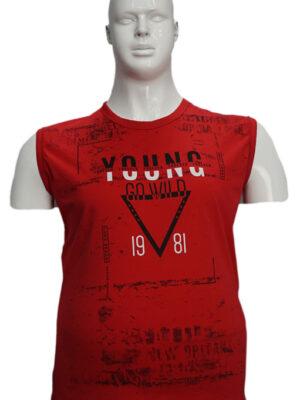 Koszulka bezrękawnik B163-1-B - PACZKA