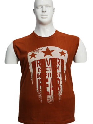 Koszulka bezrękawnik B165-1-B - PACZKA