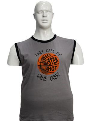 Koszulka bezrękawnik B160-1-B - PACZKA