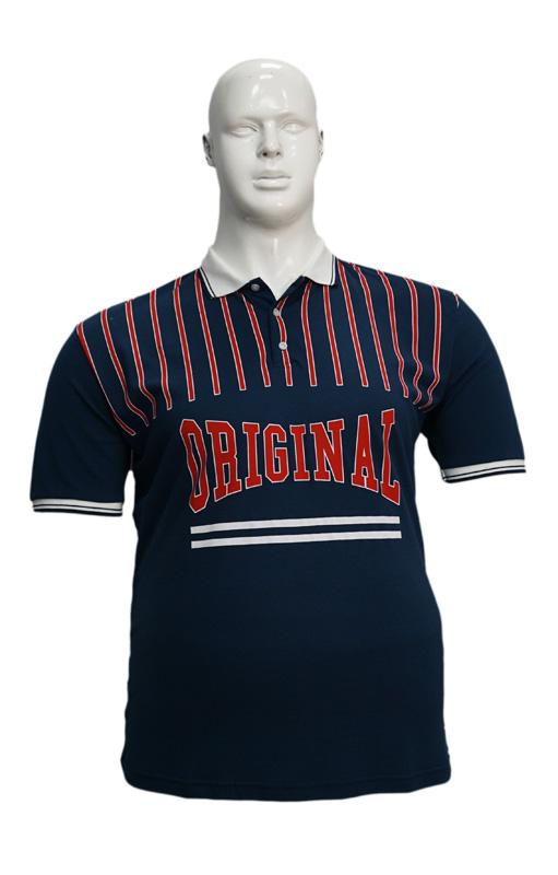 Koszulka Polo B167 wzór 2 - PACZKA