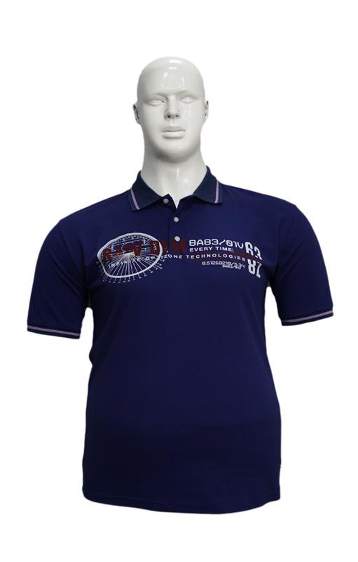 Koszulka Polo B167 wzór 3 - PACZKA