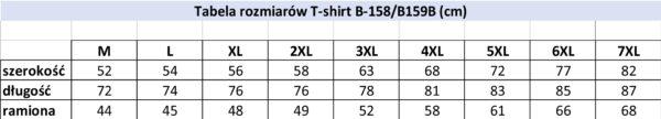Koszulka T-shirt- B158 Wzór 10 - PACZKA