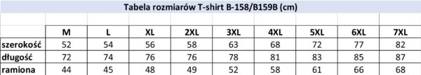 Koszulka T-shirt- B158 Wzór 17 - PACZKA