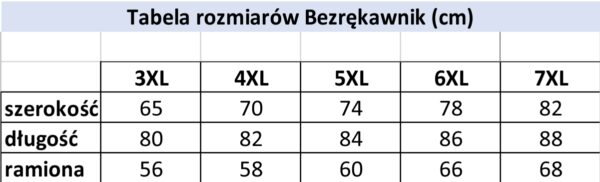 Koszulka bezrękawnik B164-1-B - PACZKA